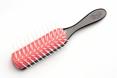 Denman D41 Large Hair Brush Gentle Styling for All Hair Types 9 Row Comfort