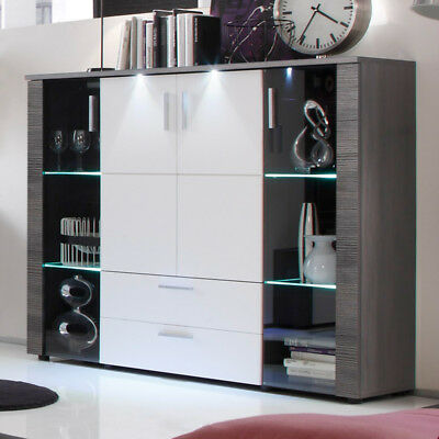 highboard wohnzimmer awesome highboard sideboard in. Black Bedroom Furniture Sets. Home Design Ideas