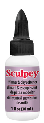 Sculpey POLYMER CLAY Liquid Softener Conditioner 1 oz Soft Polyform Modeling