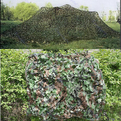Woodland Leaves Camouflage Camo Net For Military Hunting Camping Photography