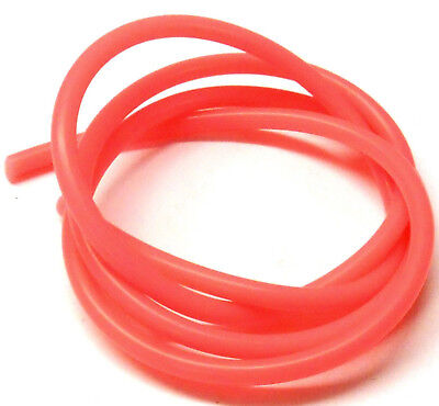 S10010R Light Red / Pink Silicone RC Nitro Glow Fuel Line Tube Pipe 1 Meter