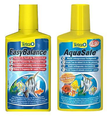 Set Tetra Easy Balance + AquaSafe 100ml acqua pulita per acquario