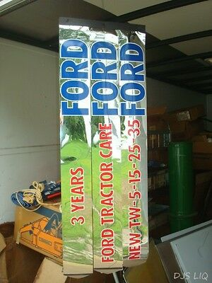 Old Ford Tw Series Tractor Banner Poster Sign Advertising Display Bc652