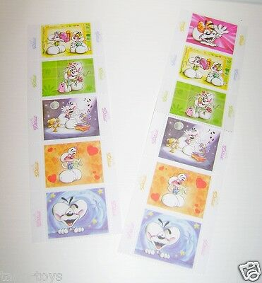 DIDDL 90s italy lot 12 stamps - lotto 12 francobolli mint mouse topolini