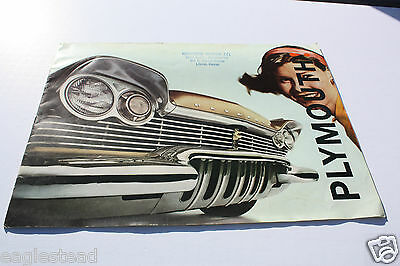 Auto Brochure - Plymouth - Product Line Overview - 1960 (AB321) - OS