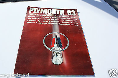Auto Brochure - Plymouth - Product Line Overview - 1963 (AB323) - OS