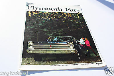 Auto Brochure - Plymouth - Fury - 1965 (AB327) - OS
