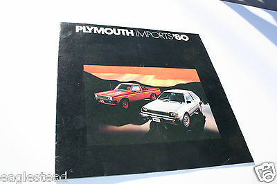 Auto Brochure - Plymouth - Champ - Arrow Car Pickup - Sapporo 1980 (AB330) - OS
