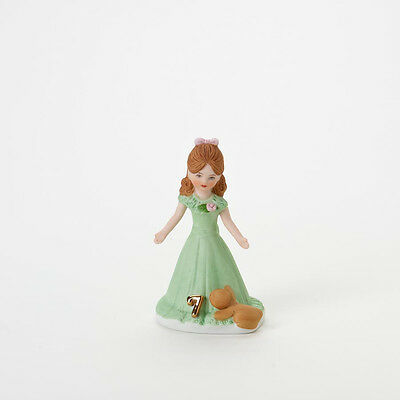 Growing Up Girls - Age 7 Brunette Figurine