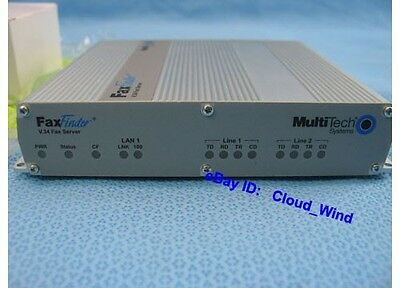 MultiTech FaxFinder Fax Server FF220, 2-Port V.34 Win7 and Win8
