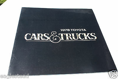 Auto Brochure - Toyota - Cars Trucks Product Line Overview - 1978 (AB376) - OS