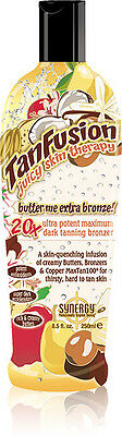 TanFusion Juicy Skin Therapy Butter Me Extra Bronze Dark Tanning Bronzer 250ml