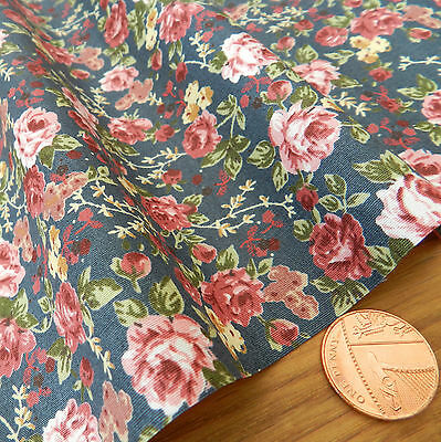 "FQ pretty meadow floral fabric 44 /"" wide  100/% cotton poplin * PER 1//2 Metre"