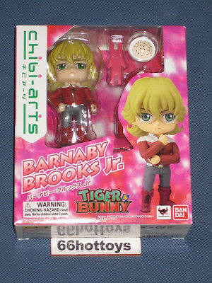 Bandai Tamashii Nations Tiger and Bunny Chibi-Arts - Barnaby Brooks Jr. New