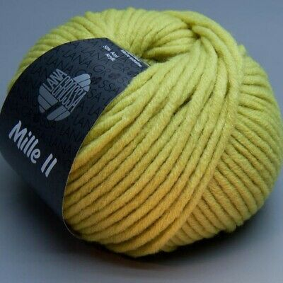 Lana Grossa Mille II 061 acacia 50g Wolle