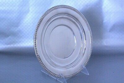"Sterling Silver Tray #12525 by Newport Sterling Trademark of Gorham 9""w"