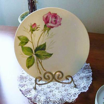 Set of 3 DINNERPLATE KNOWLES TEA ROSE X-2240-0 Vintage China Dishes