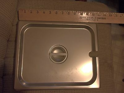 One Dozen Half Size Slotted Steam Pan Cover New In Box Thunder Group