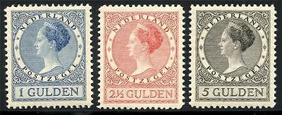 Netherlands Sc# 161-3 Nvph# 163-5Mint Hinged As Shown