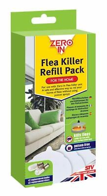 Gotcha Electric Flea Killer Replacement Refill Kit Consists Of 3 Disks & 2 Bulbs