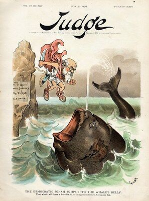 Whale Democratic Jonah Publisher Charles Dana Jumps Into The Whale's Belly