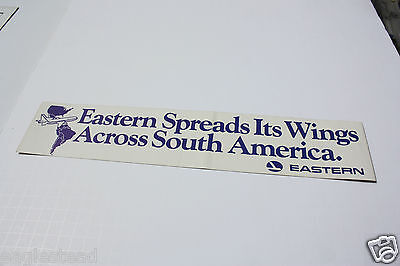 Baggage Label - Eastern - L-1011 Spreads Wings Across South America (BL523) - OS