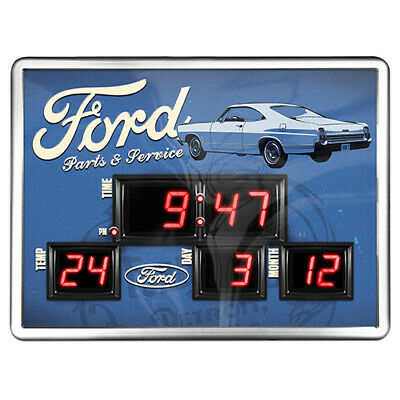 Ford Racing V8 Super Car Premium LICENSED BAR TABLE Man Cave Fathers Day Gift