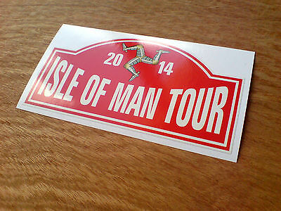 ISLE OF MAN TOUR Road Races All TT fans Car Motorcycle Sticker 1 off 150mm