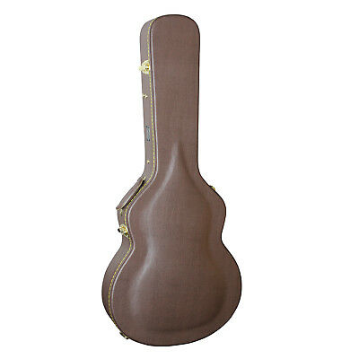Artist JC400 Brown Arch Top Hard Guitar Case fits a ES335 Gibson - New