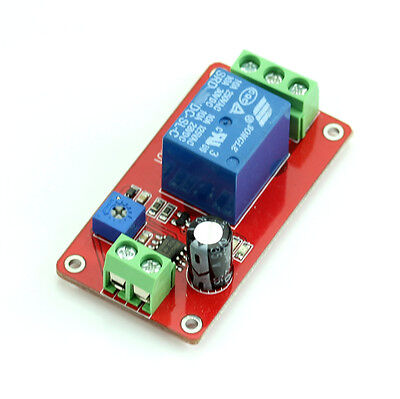 New DC 12V  Adjustable Delay Timer Relay NE555 Delay Switch 1 to 20 Second