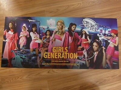 SNSD GIRLS' GENERATION  MR. MR. [4TH MINI ALBUM] [ORIGINAL POSTER] *NEW* K-POP