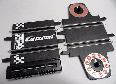 New Carrera Go Lap Counter + Start Grid Track Sections (4 Plug Version)