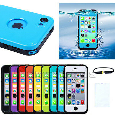 Newest Waterproof Shockproof Dirt Snow Proof Case Cover For Apple iphone 5c