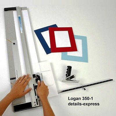 Logan Elite Picture & Photo Mount Cutter 350-1 & 5 blades & UK warranty