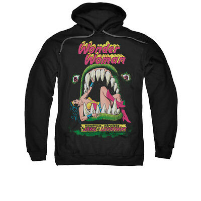 DC Comics Wonder Woman Jaws Adult Pull-Over Hoodie