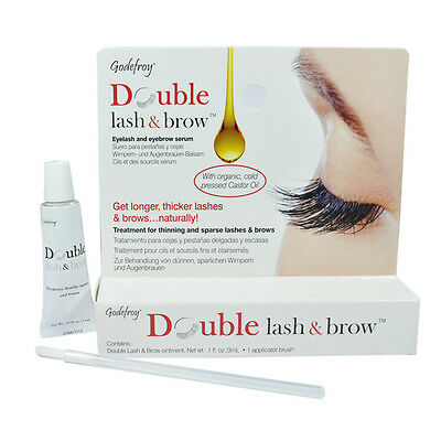 Godefroy Double Lash & Brow Promotes Longer Healthier thicker Brows & Lashes 3ml