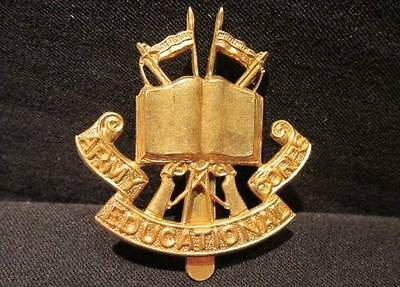 Army Educational Corps Great Britain WWII Cap Badge