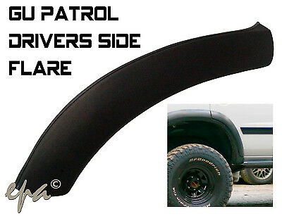 Nissan Gu Patrol Series 1 2 3 Rear Drivers Side Right Door Flare #gudfd