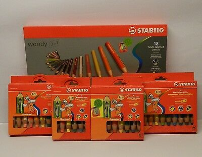 Stabilo woody Multitalent Buntstifte 3 in 1 (aquarellisierbarer Buntstift)e