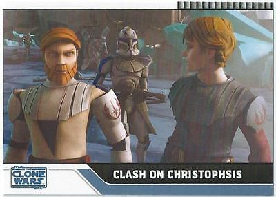 Star Wars The Clone Wars - Card 20 - Clash On Christophsis