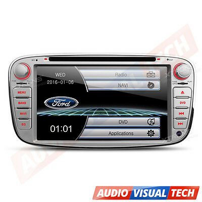 """XTRONS 7"""" HD Touch Screen Car CD DVD Player Stereo GPS Mondeo Ford Focus Galaxy"""