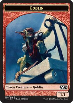 GOBLIN TOKEN Magic NPH Mint PEDINA GOBLIN