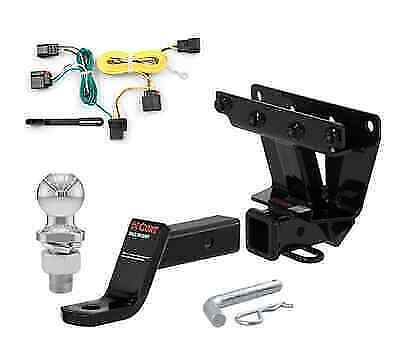 Curt Class 3 Trailer Hitch Tow Package for Jeep Grand Cherokee