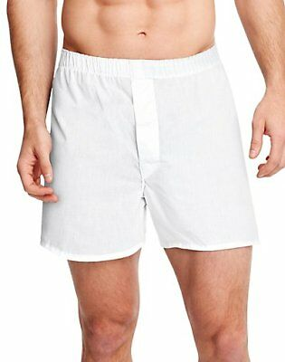 Hanes Men's TAGLESS® Full-Cut Boxer with Comfort Flex® Waistband 4-Pack HN110W4