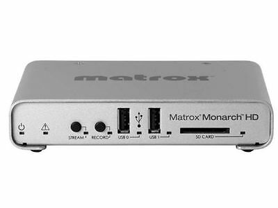 Matrox MHD/I Monarch HD Professional video streaming & recording appliance