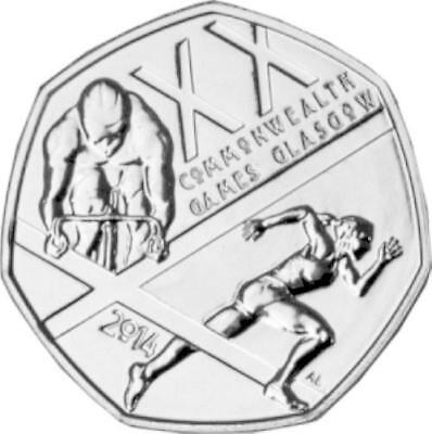 commonwealth games glasgow 50p