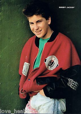"BOBBY JACOBY - CHAD ALLEN - TEEN BOY ACTOR - 11""x8"" MAGAZINE POSTER PINUP"