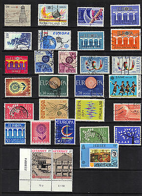 EUROPA Thematic Stamp Collection Mint Used  Ref:E92