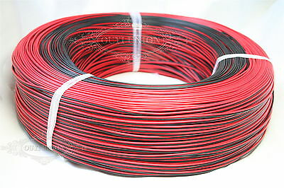 2PIN Equipment Wire Cable copper core 18AWG 20AWG 22AWG 24AWG Red&Black