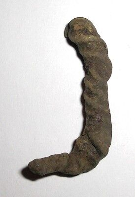 Ancient Viking, Bronze Neck Tork Fragment, Jewelry • CAD $12.70